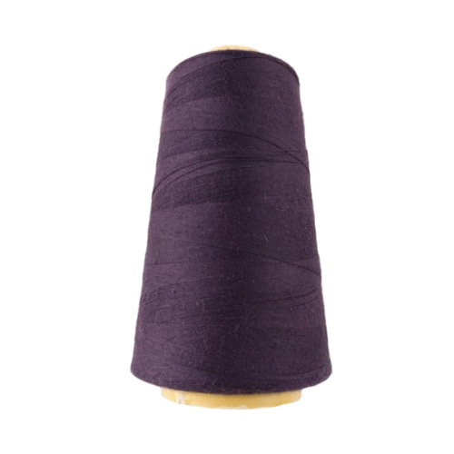 Hantex Overlocker Thread - Dark Purple - 100% Polyester 3000 Yrds (2700+m)