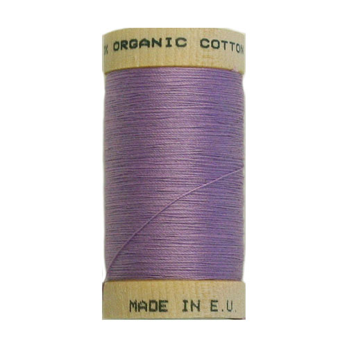Scanfil Organic Thread 100 Metre Spool - Lavender