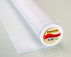 Vlieseline Interfacing Light Weight White Iron On 90cm x 25m