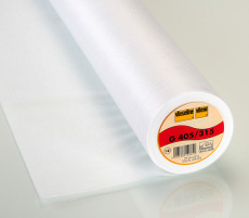 Vilene Easy Fuse Medium Iron-On Interfacing 90cm X 25 Metre - White