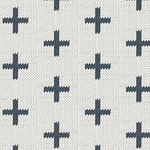 Chain Stitch Crosses from Hooked designed by Mister Domestic for AGF
