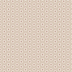 Oval Elements Cappuccino- Art Gallery Fabric 44in/45in Per Metre