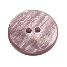 Acrylic Button 2 Hole Textured Without Gloss 15mm Mauve