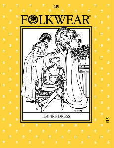Empire Dress by Folkwear Patterns