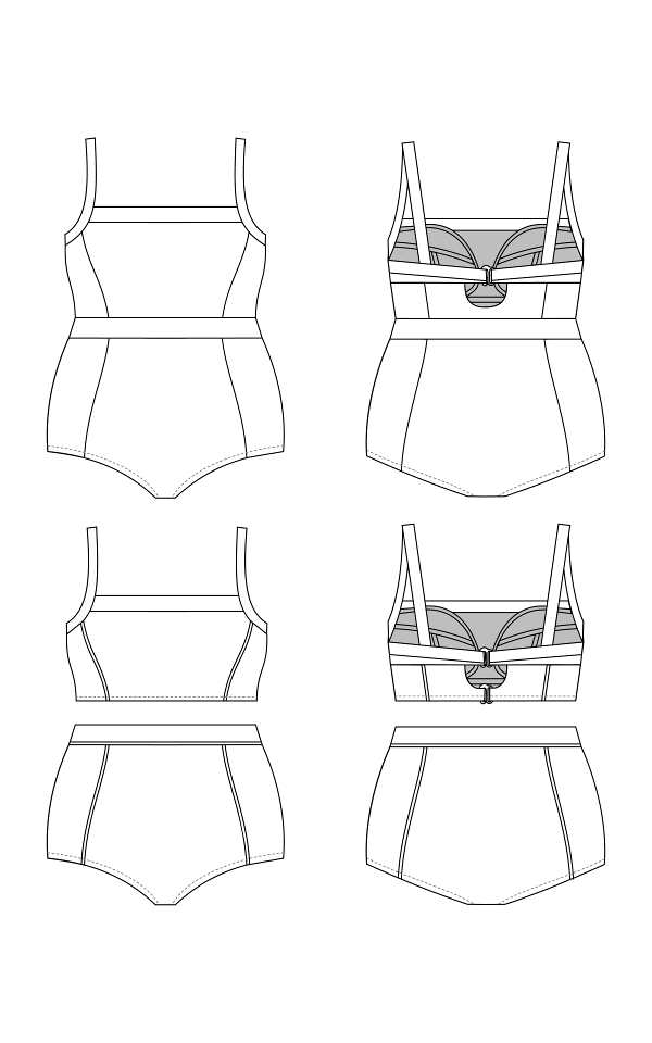 Ipswich Swimsuit By Cashmerette