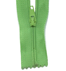 Make A Zipper Standard - 197in Long With 12 Zipper Pulls - Medium Green