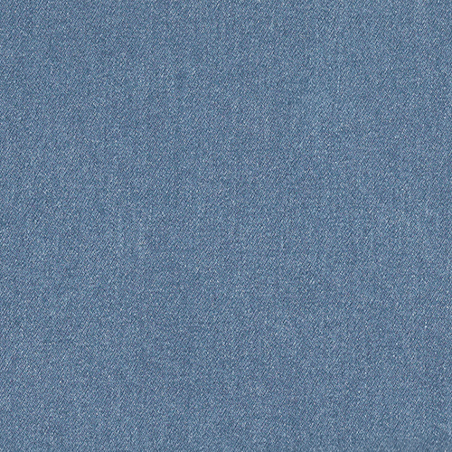 Mid Blue Stretch Denim Fabric