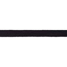 Black Washed Cotton Twill Tape - 15mm X 50m