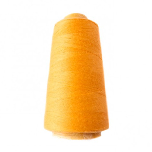 Hantex Overlocker Thread - Yellow - 100% Polyester 3000 Yrds (2700+m)