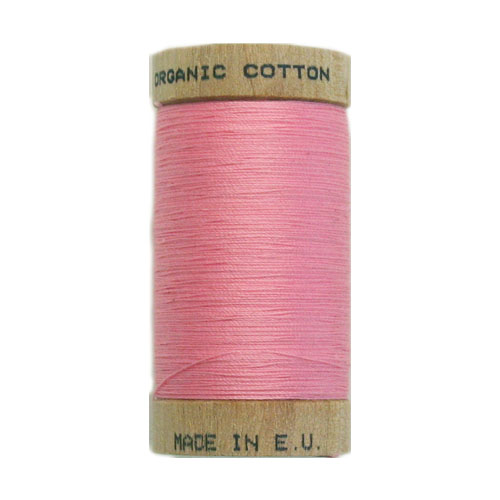 Scanfil Organic Thread 100 Metre Spool - Pink