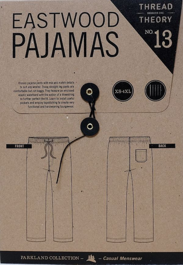 Eastwood Pajamas Pattern - By Thread Theory Designs
