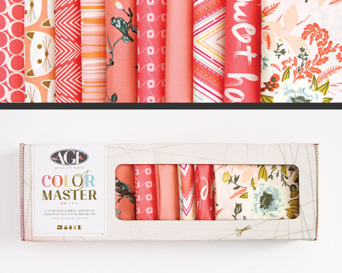 AGF Colormaster Fat Quarter Collectors Set - Coraline Edition
