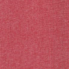 Cherry Crimson Outland Yarn Dyes - Art Gallery Fabric 57in Per Metre, 100% Cotton, 4 Oz/sqm