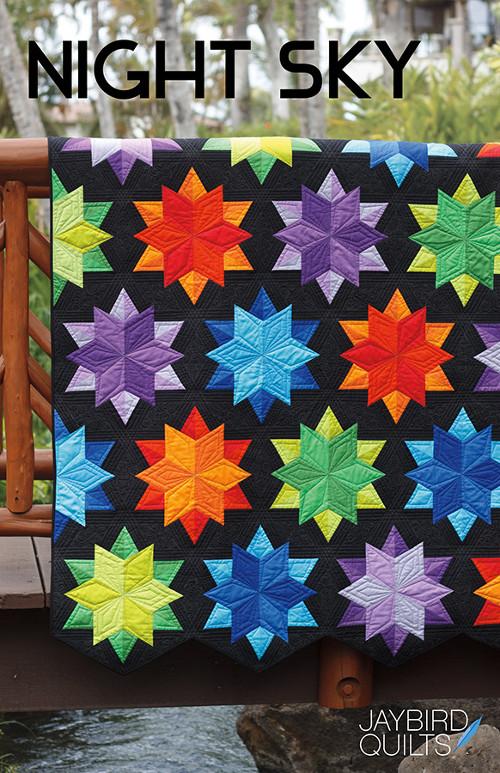 Night Sky Jaybird Quilts Patterns Wholesale By Hantex Ltd Uk Eu