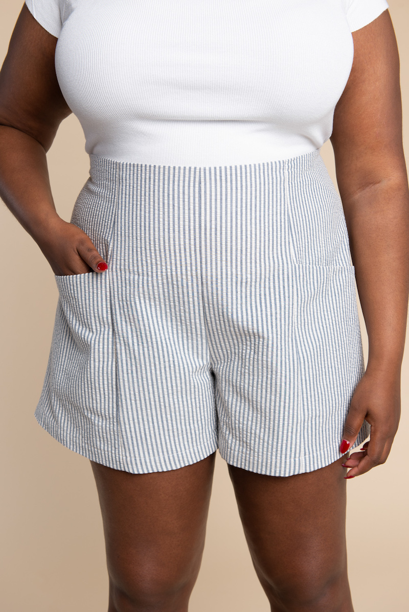 Pietra Trousers and Shorts Pattern by Closet Case Files