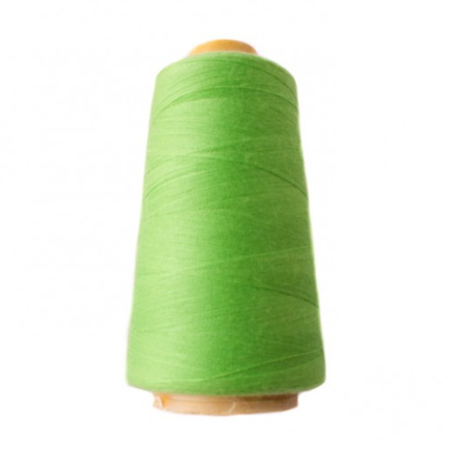 Hantex Overlocker Thread - Lime - 100% Polyester 3000 Yrds (2700+m)