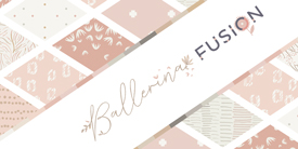 Ballerina Fusion Art Gallery Fabrics Sample Pack