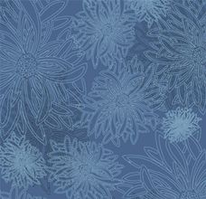 Floral Elements Lapis Lazuli - Art Gallery Fabric 44in/45in Per Metre