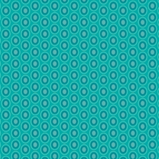 Oval Elements Blue Lagoon - Art Gallery Fabric 44in/45in Per Metre