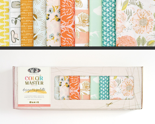 AGF Colormaster Bonnie Christine No 1 Designers Palette Fat Quarter Collectors Box