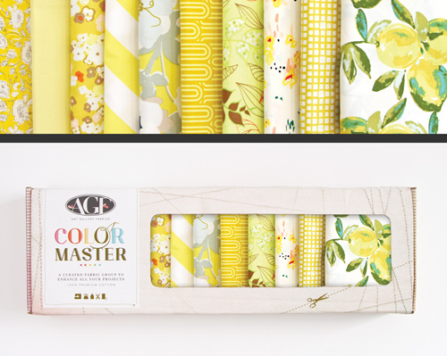 AGF Colormaster Half Yard Collectors Set - Lemon Green Edition