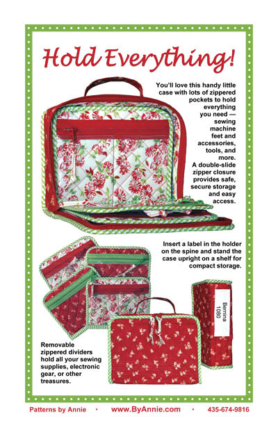 Hold Everything Organiser Pattern By Annies