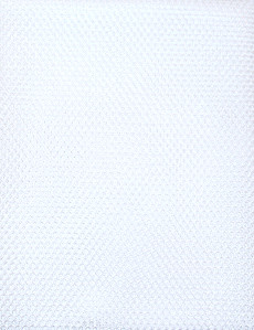 Mesh Fabric White 18in x 54in (45cm x 137cm) Pack