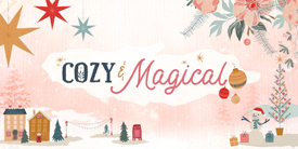 Sample Pack from Cozy and Magical by Maureen Cracknell in Cotton for AGF
