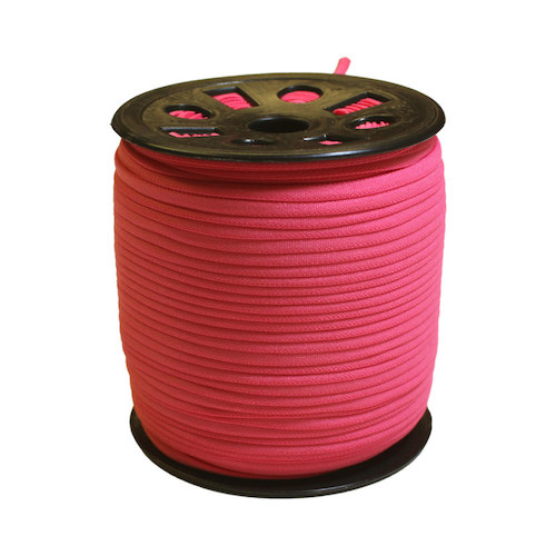 Pink Narrow Banded Elastic - 4mm x 92m