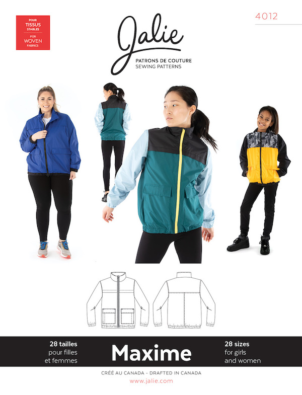 Maxime Three Season Jacket Pattern by Jalie