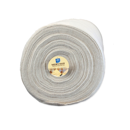 Legacy 100% Cotton Fusible Wadding With Scrim - 152cm (60in) X 13.7m (15yds)