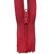 Make A Zipper Standard - 197in Long With 12 Zipper Pulls - Red