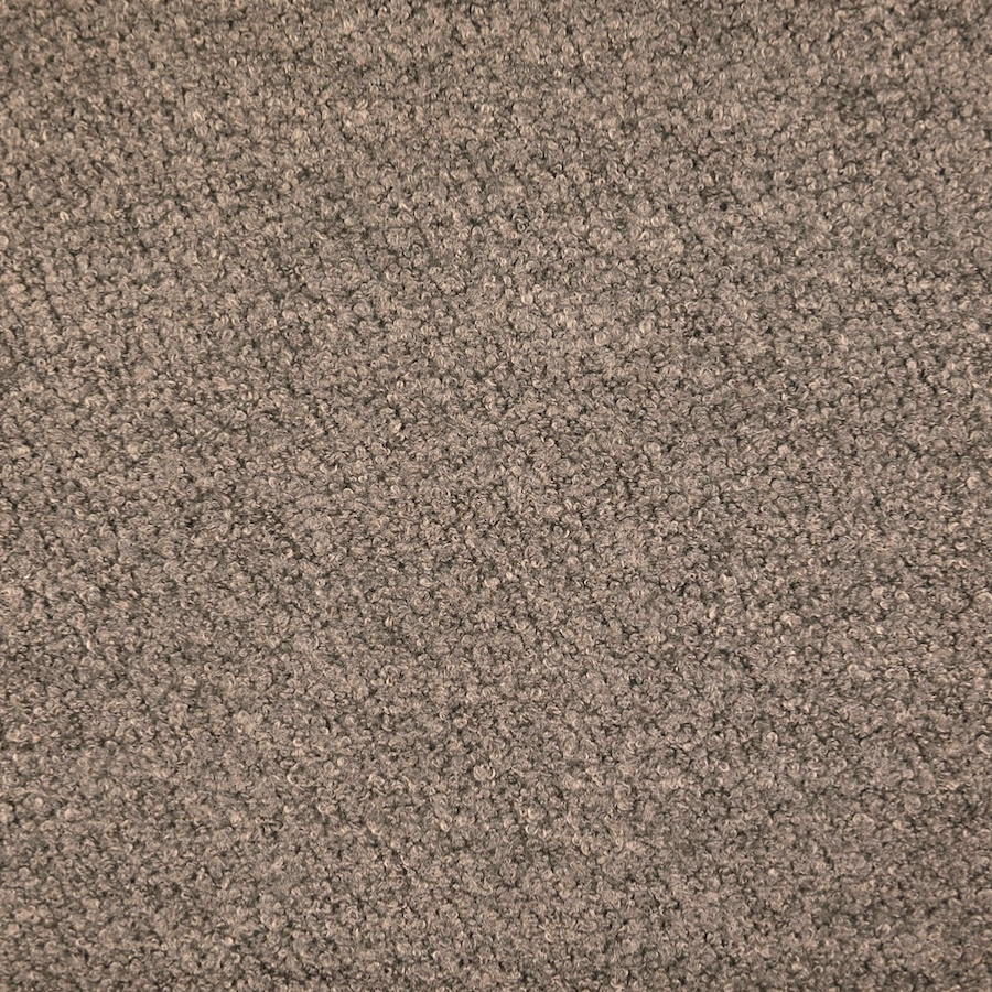 Dark Grey Wool Blend Boucle Coat Fabric