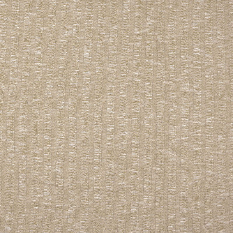 Sete Sand Melange Summer Rib Knit Fabric