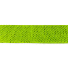 Lime Cotton Webbing - 40mm X 50m