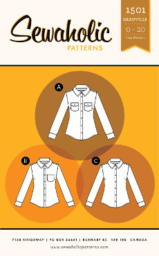 Granville Shirt Pattern - Sewaholic Patterns