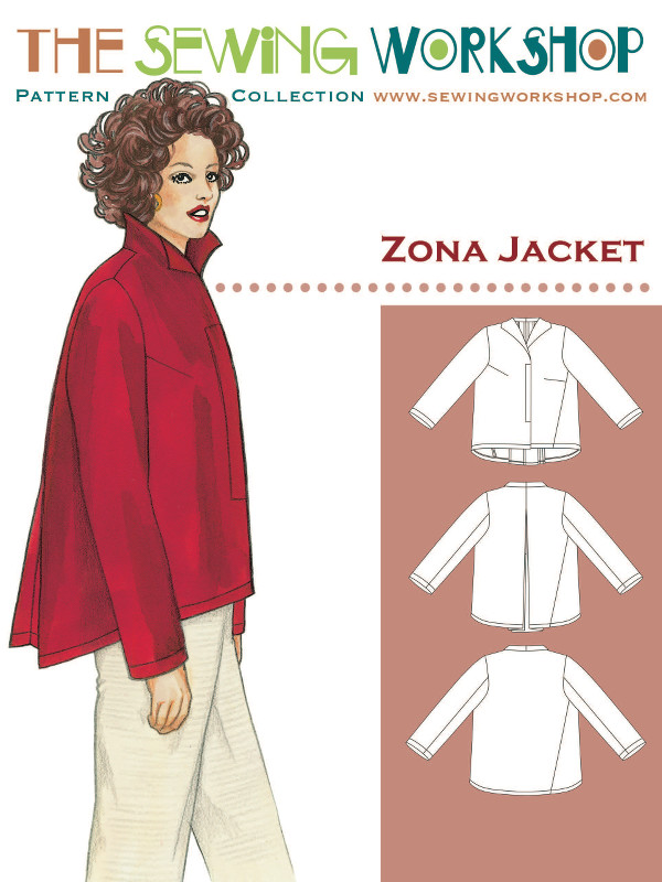 Zona Jacket Pattern Sewing Workshop Pattern Wholesale By Hantex