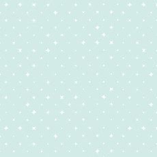 We Are All Stars Clear Turquoise - Cloud 9 Quilters Weight Fabric 44in/45in Per Metre
