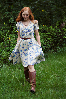 Clara Dress Pattern - Sew Liberated