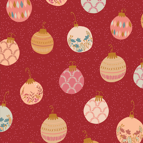 Deck the Halls from Cozy and Magical by Maureen Cracknell in Cotton for AGF