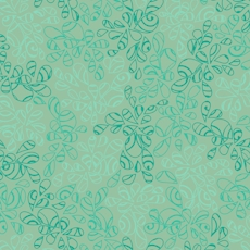 Blue Green Nature Elements - Art Gallery Fabric 44in/45in Per Metre