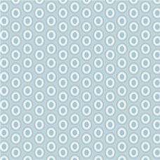 Oval Elements Powder Blue - Art Gallery Fabric 44in/45in Per Metre