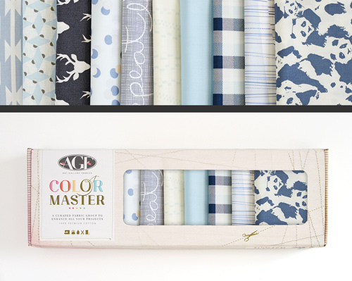 AGF Colormaster Fat Quarter Collectors Set - Cloud and Sky Edition