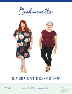Rivermont Dress & Top - Cashmerette Patterns