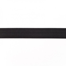 Black Elastic - 19mm X 50m