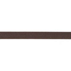 Chocolate Foldover Elastic - 16mm X 25m