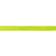 Lime Foldover Scalloped Edge Elastic - 12mm X 25m