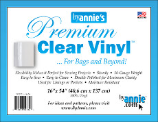 Premium Clear Vinyl 16in X 54in Pack