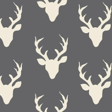 Hello Bear Buck Forest Moonstone - Art Gallery Fabric 44in/45in Per Metre