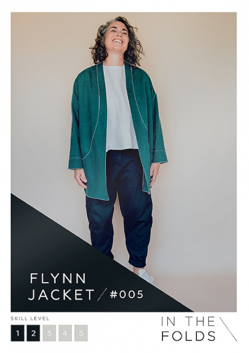 Flynn Jacket Pattern By In The Folds